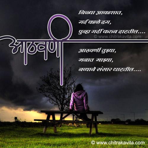 Marathi Kavita, Marathi Poem Aathavani, Marathi Chitrakavita