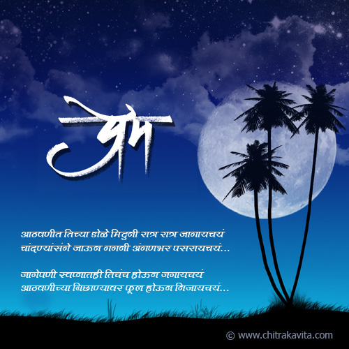 Tujhi-Aathvan Marathi Memories Greeting Card