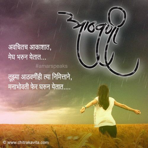 Marathi Memories Greeting Aathvani | Chitrakavita.com