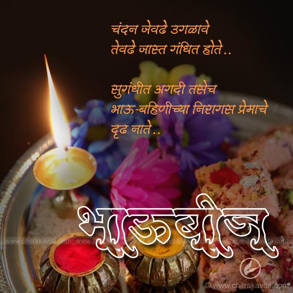 Marathi Diwali Greeting Bhavbij | Chitrakavita.com